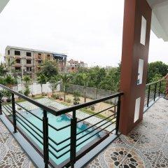 Отель Phu Hung Thinh Villa балкон