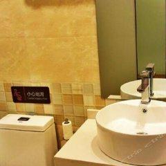 Отель 7 Days Premium (Chongqing Fuling Binjiang Avenue) Китай, Фулинь - отзывы, цены и фото номеров - забронировать отель 7 Days Premium (Chongqing Fuling Binjiang Avenue) онлайн ванная фото 2