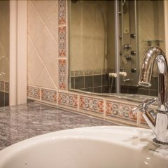 Hotel El Castell Вальдерробрес ванная фото 2