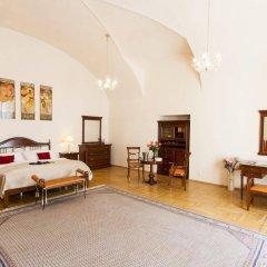 Отель Modra ruze Чехия, Прага - 10 отзывов об отеле, цены и фото номеров - забронировать отель Modra ruze онлайн комната для гостей фото 4