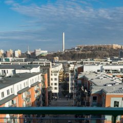 Апартаменты Biz Apartment Hammarby Sjostad Йоханнесхов балкон