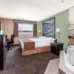 Отель Super 8 by Wyndham Saskatoon Near Saskatoon Airport удобства в номере