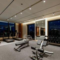 Отель Paradise City фитнесс-зал фото 2