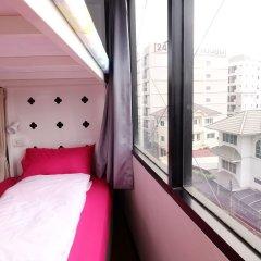 Seatz station Hostel Female only Бангкок балкон