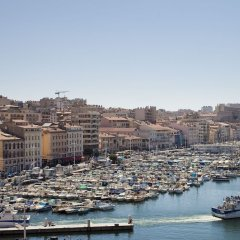 Отель Escale Oceania Marseille Марсель приотельная территория фото 2