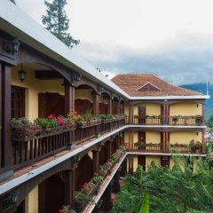 Отель Victoria Sapa Resort & Spa Вьетнам, Шапа - отзывы, цены и фото номеров - забронировать отель Victoria Sapa Resort & Spa онлайн балкон