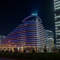 Отель Radisson Blu Residence, Istanbul Batisehir вид на фасад