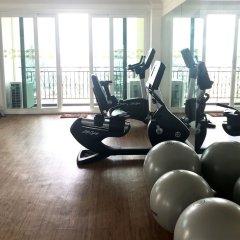 Отель LK President фитнесс-зал фото 2