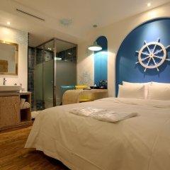 Отель Hwagok Lush Hotel Южная Корея, Сеул - отзывы, цены и фото номеров - забронировать отель Hwagok Lush Hotel онлайн комната для гостей фото 5