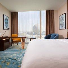 Гостиница Hilton Astana Казахстан, Нур-Султан - 3 отзыва об отеле, цены и фото номеров - забронировать гостиницу Hilton Astana онлайн комната для гостей фото 5