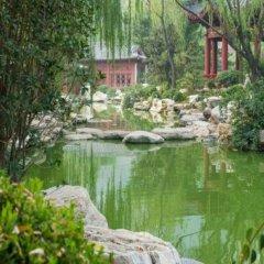 Отель Liu Hua Xi Tang Hotel Китай, Сиань - отзывы, цены и фото номеров - забронировать отель Liu Hua Xi Tang Hotel онлайн приотельная территория фото 2