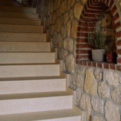 Отель Halkidiki Luxurious Stonehouses сауна