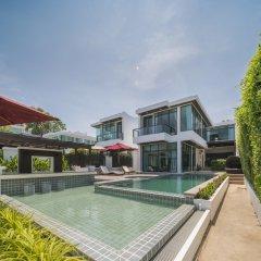 Отель X2 Hua Hin LeBayburi Pranburi Villa бассейн