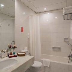 Miramare Beach Hotel Турция, Сиде - 1 отзыв об отеле, цены и фото номеров - забронировать отель Miramare Beach Hotel онлайн ванная фото 2