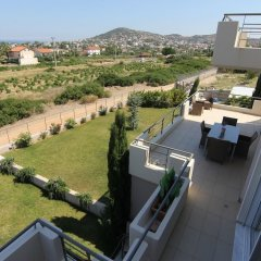 Отель Villa Abelos Греция, Галатси - отзывы, цены и фото номеров - забронировать отель Villa Abelos онлайн балкон