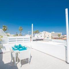 Отель Evelina Apartment Кипр, Протарас - отзывы, цены и фото номеров - забронировать отель Evelina Apartment онлайн пляж фото 2