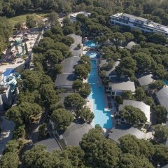 Отель Voyage Belek Golf & Spa - All Inclusive Белек приотельная территория фото 2