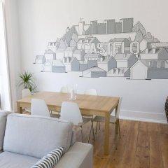 Отель Lisbon Check-In Guesthouse Португалия, Лиссабон - 2 отзыва об отеле, цены и фото номеров - забронировать отель Lisbon Check-In Guesthouse онлайн комната для гостей фото 4