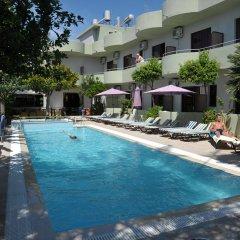 Отель Anseli Hotel Греция, Петалудес - 1 отзыв об отеле, цены и фото номеров - забронировать отель Anseli Hotel онлайн бассейн