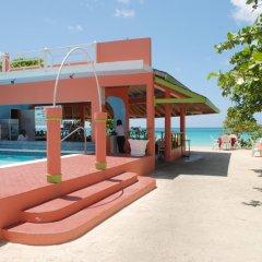 Отель Shields Negril Villas LTD пляж фото 2