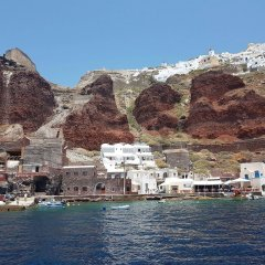 Отель Amoudi Villas Греция, Остров Санторини - отзывы, цены и фото номеров - забронировать отель Amoudi Villas онлайн приотельная территория