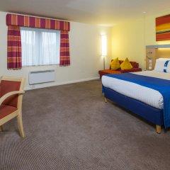 Отель Holiday Inn Express Edinburgh Royal Mile Великобритания, Эдинбург - 1 отзыв об отеле, цены и фото номеров - забронировать отель Holiday Inn Express Edinburgh Royal Mile онлайн комната для гостей фото 5