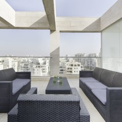 Отель Sea N' Rent - Ramat Aviv 3 Bed Тель-Авив балкон