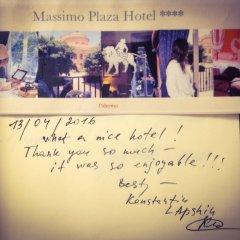 Отель Massimo Plaza Италия, Палермо - отзывы, цены и фото номеров - забронировать отель Massimo Plaza онлайн интерьер отеля фото 2