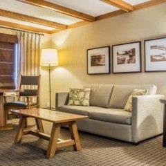 Отель Comfort Inn The Pointe США, Ниагара-Фолс - отзывы, цены и фото номеров - забронировать отель Comfort Inn The Pointe онлайн комната для гостей фото 3