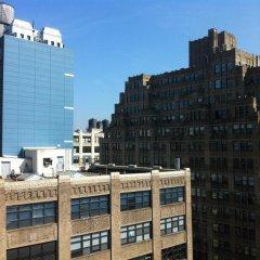 Отель Four Points by Sheraton Manhattan SoHo Village США, Нью-Йорк - отзывы, цены и фото номеров - забронировать отель Four Points by Sheraton Manhattan SoHo Village онлайн балкон