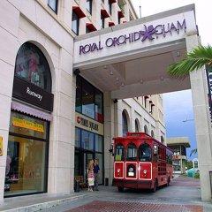 Royal Orchid Guam Hotel Тамунинг городской автобус