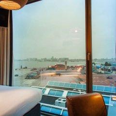 Отель DoubleTree by Hilton Hotel Amsterdam - NDSM Wharf Нидерланды, Амстердам - отзывы, цены и фото номеров - забронировать отель DoubleTree by Hilton Hotel Amsterdam - NDSM Wharf онлайн балкон