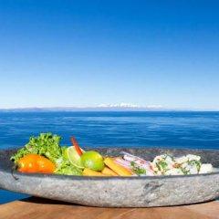 Отель Titicaca Lodge - Isla Amantani Перу, Тилилака - отзывы, цены и фото номеров - забронировать отель Titicaca Lodge - Isla Amantani онлайн бассейн