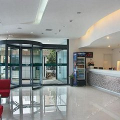 Отель Jialili Hotel (Xi'an Software Park Gaoxin Hospital) Китай, Сиань - отзывы, цены и фото номеров - забронировать отель Jialili Hotel (Xi'an Software Park Gaoxin Hospital) онлайн интерьер отеля фото 2