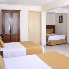 Hotel Villa Las Margaritas Sucursal Caxa комната для гостей фото 3