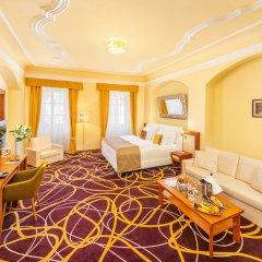 Отель Bellevue (ex.u Mesta Vidne) Чешский Крумлов комната для гостей фото 3