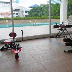 Отель Aunchaleena Grand Бангкок фитнесс-зал фото 2