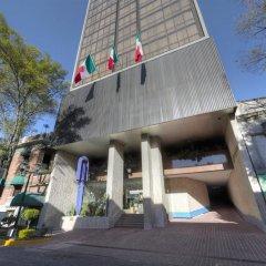 Отель Royal Reforma Мехико приотельная территория