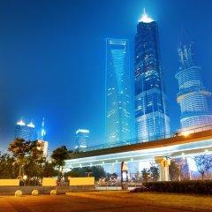 Отель Starway Hotel Nanquan Shanghai Китай, Шанхай - отзывы, цены и фото номеров - забронировать отель Starway Hotel Nanquan Shanghai онлайн вид на фасад