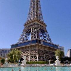 Отель Paris Las Vegas бассейн фото 3