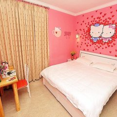Отель Xiamen Haixi Haibian Holiday Inn комната для гостей фото 5