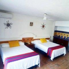 Отель Playa Conchas Chinas Пуэрто-Вальярта комната для гостей