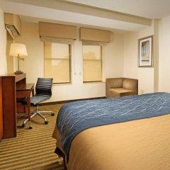 Отель Comfort Inn Downtown DC/Convention Center США, Вашингтон - отзывы, цены и фото номеров - забронировать отель Comfort Inn Downtown DC/Convention Center онлайн удобства в номере фото 2