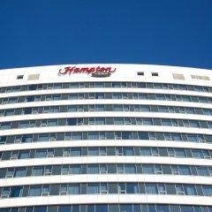 Гостиница Hampton by Hilton Moscow Strogino (Хэмптон бай Хилтон) вид на фасад фото 2