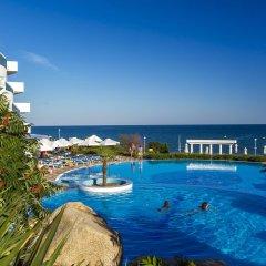 Отель PrimaSol Sineva Beach Hotel - Все включено Болгария, Свети Влас - отзывы, цены и фото номеров - забронировать отель PrimaSol Sineva Beach Hotel - Все включено онлайн бассейн фото 3