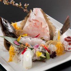 Отель Iwayu Ryokan Мисаса питание