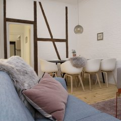 Апартаменты Spacious Apartments in Copenhagen Centre комната для гостей фото 2