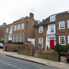 Отель Veeve House in Hampstead парковка