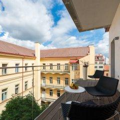 Отель EMPIRENT Aquarius Apartments Чехия, Прага - отзывы, цены и фото номеров - забронировать отель EMPIRENT Aquarius Apartments онлайн балкон
