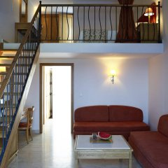 Отель Mitsis Family Village Beach Hotel Греция, Калимнос - отзывы, цены и фото номеров - забронировать отель Mitsis Family Village Beach Hotel онлайн комната для гостей фото 2
